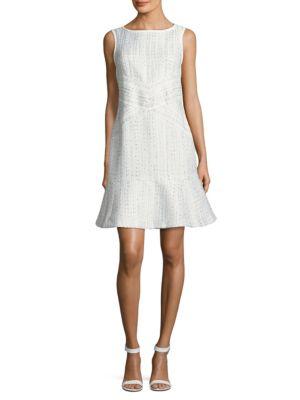 Tweed Sheath Dress by Karl Lagerfeld Paris
