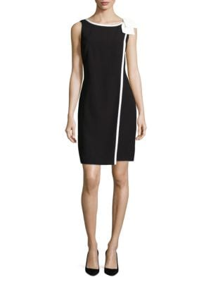 Sleeveless Bow Dress by Karl Lagerfeld Paris