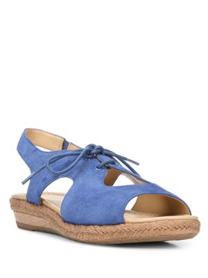 Reilly Leather Wedge Sandals by Naturalizer