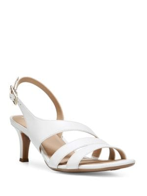 Taimi Leather Slingback Sandals by Naturalizer