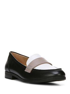 Veronica Leather Slip-On...
