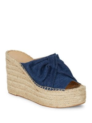 Aida2 Espadrille Wedge Sandals by Marc Fisher LTD