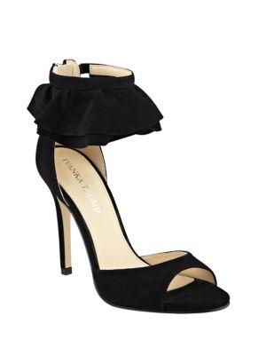 Herlle Suede Stiletto Sandals by Ivanka Trump