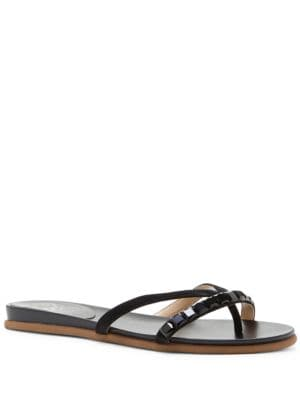 Eddinal Leather Sandals by Vince Camuto