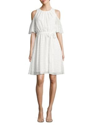 Photo of Embroidered Diamond Dress by Calvin Klein - shop Calvin Klein dresses sales