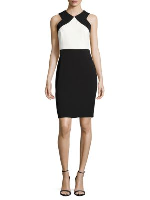 Sleeveless Colorblock Dress by La Petite Robe di Chiara Boni
