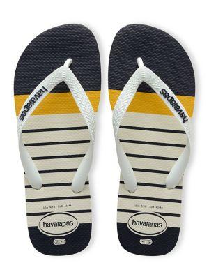 Nautical Thong Flip-Flops...