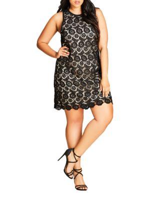Plus Tea Party Dress by City Chic