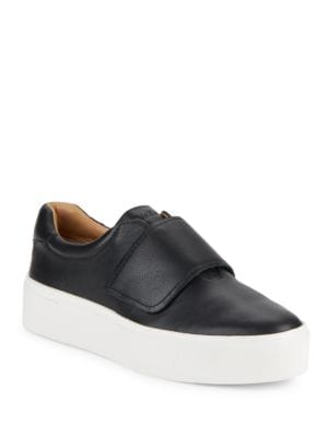 Jaiden Leather Platform Sneakers by Calvin Klein