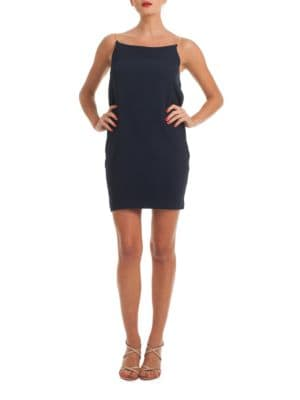 Benita Cowl-Back Slip Dress by Trina Turk