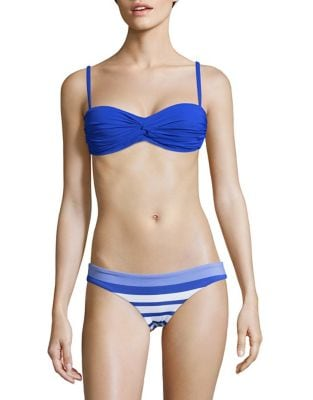 Soft Azure Bandeau Bikini Top by Vitamin A