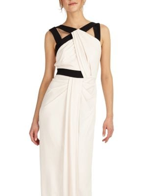 Contrast Column Gown by Phase Eight