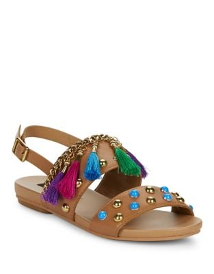 Ariel Two Band Ankle Strap Sandals by Design Lab Lord & Taylor