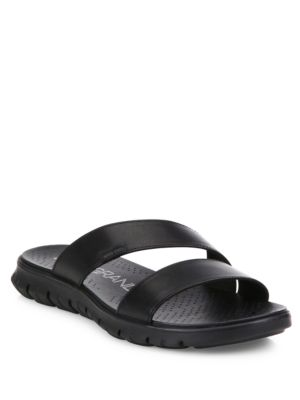 Grand Leather Slides by Cole Haan