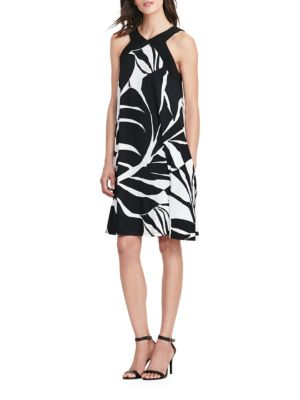 Tropical-Print Jersey Dress by Lauren Ralph Lauren