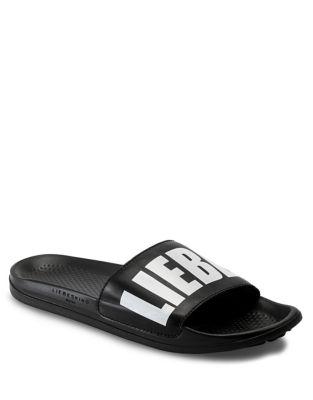 Signature Slide Sandals by Liebeskind Berlin