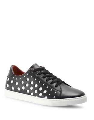 Leather Lace-Up Sneakers by Liebeskind Berlin