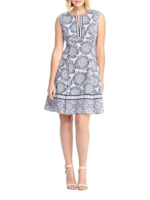 Floral Print Dress by Maggy London