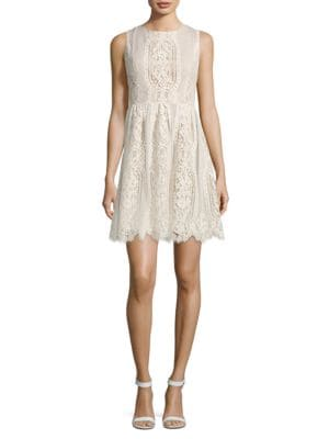 Lace Mesh Dress by Decode 1.8