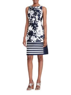 Printed Sateen Dress by Lauren Ralph Lauren