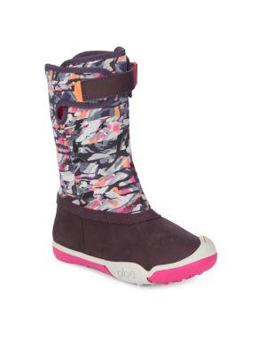 Round Toe Slip-On Boots...