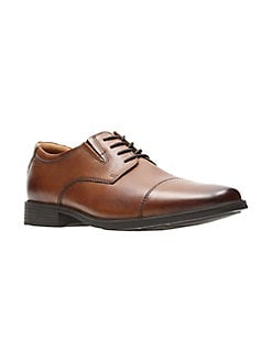 f3d90373aa8 QUICK VIEW. Clarks. Tilden Cap Leather Derby Shoes