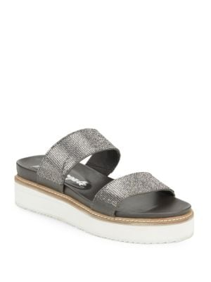 Photo of Harper Embellished Slide Sandals by Free People - shop Free People shoes sales