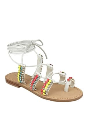 Monday Leather Flat Sandals by Ivanka Trump
