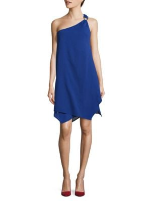 One Shoulder Cover-Up Dress by MICHAEL MICHAEL KORS