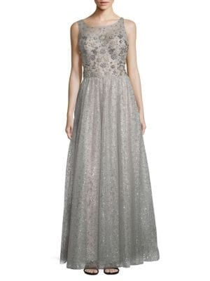 Embellished Sleeveless Dress by Marchesa Notte