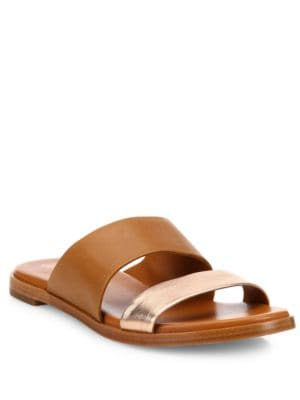 Anica Leather Slides by Cole Haan