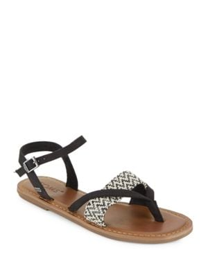Gladiator-Inspired Lexie Flat Sandals by TOMS