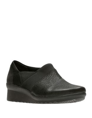 Cadelnali Cloud Stepper Leather Casual Shoes by Clarks