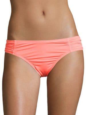 Solids Shirred Side Bikini Bottom by Coco Rave