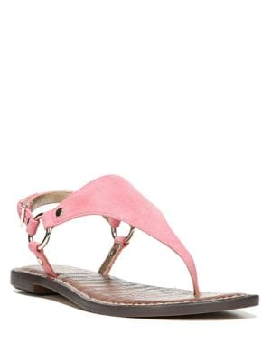 Buckled Thong Sandals by Sam Edelman