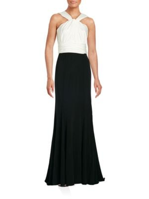 Ruched Empire Gown by Vera Wang