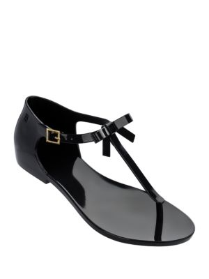 Open-Toe T-Strap Sandals by Melissa
