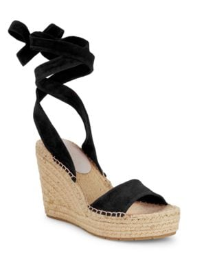 Odile Lace-Up Espadrilles by Kenneth Cole New York