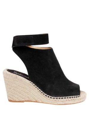 Jeren Leather Wedge Sandals by Splendid