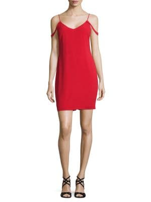 Mini Cold-Shoulder Dress by Wayf