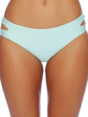 Sun Sensational Solids Cutout Bikini Bottom by Splendid