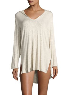 Striped Cover-Up Tunic by Splendid