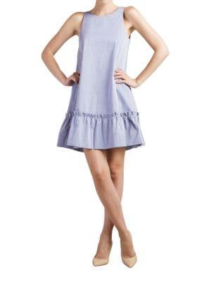 Dahab Sleeveless Ruffled Dress by Paper Crown