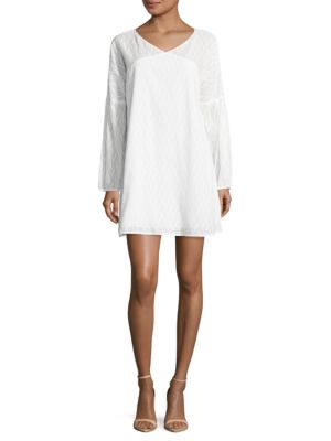Textured A-Line Dress by BCBGeneration
