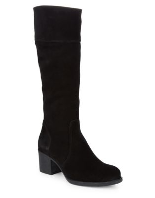Billie Block Heeled Mid-Calf Boots by La Canadienne
