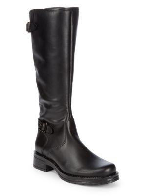 Photo of Gabriel Mid-Calf Leather Boots by La Canadienne - shop La Canadienne shoes sales