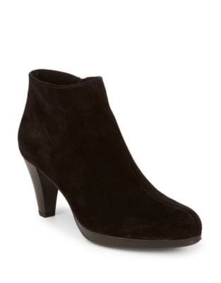 Oakly Suede Booties by La Canadienne