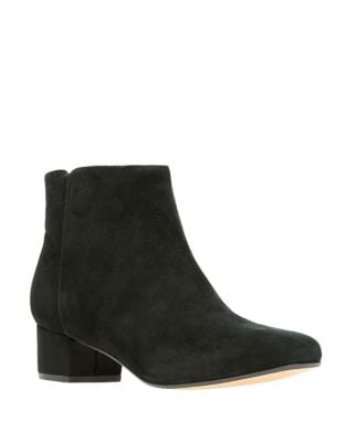 Chartlilac Suede Booties by Clarks