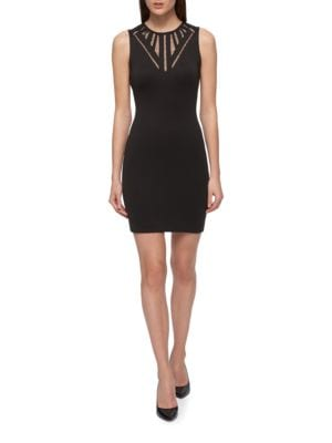 Sleeveless Bodycon Dress by Karl Lagerfeld Paris