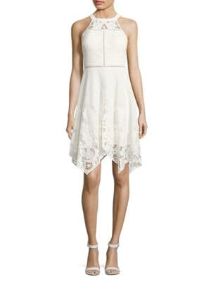 Halterneck Lace Dress by Dress The Population